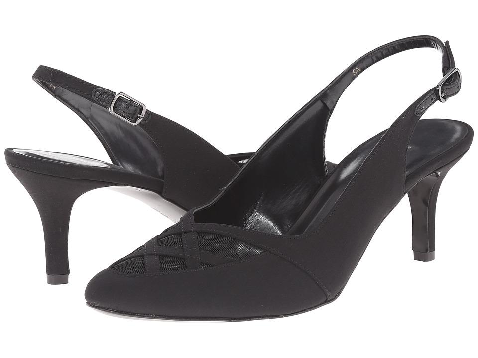 Vaneli - Laval (Black Pesca Fabric) Women's Shoes