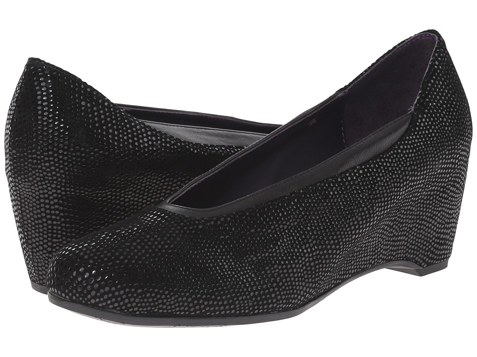 Vaneli - Lasia (Black E-Print) Women's Slide Shoes