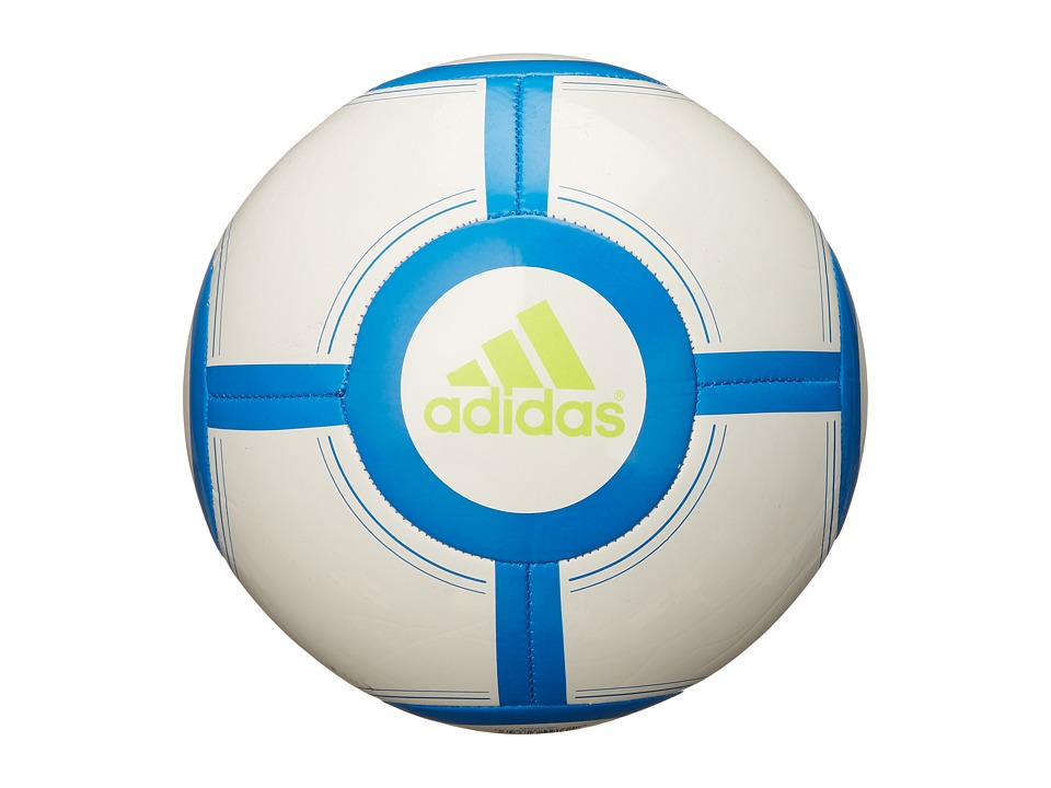 adidas - Ace Glider II (White/Shock Blue/Shock Mint) Athletic Sports Equipment