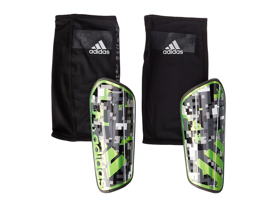 adidas - Ghost Graphic (Black/Ash/Stone/Solar Green) Athletic Sports Equipment