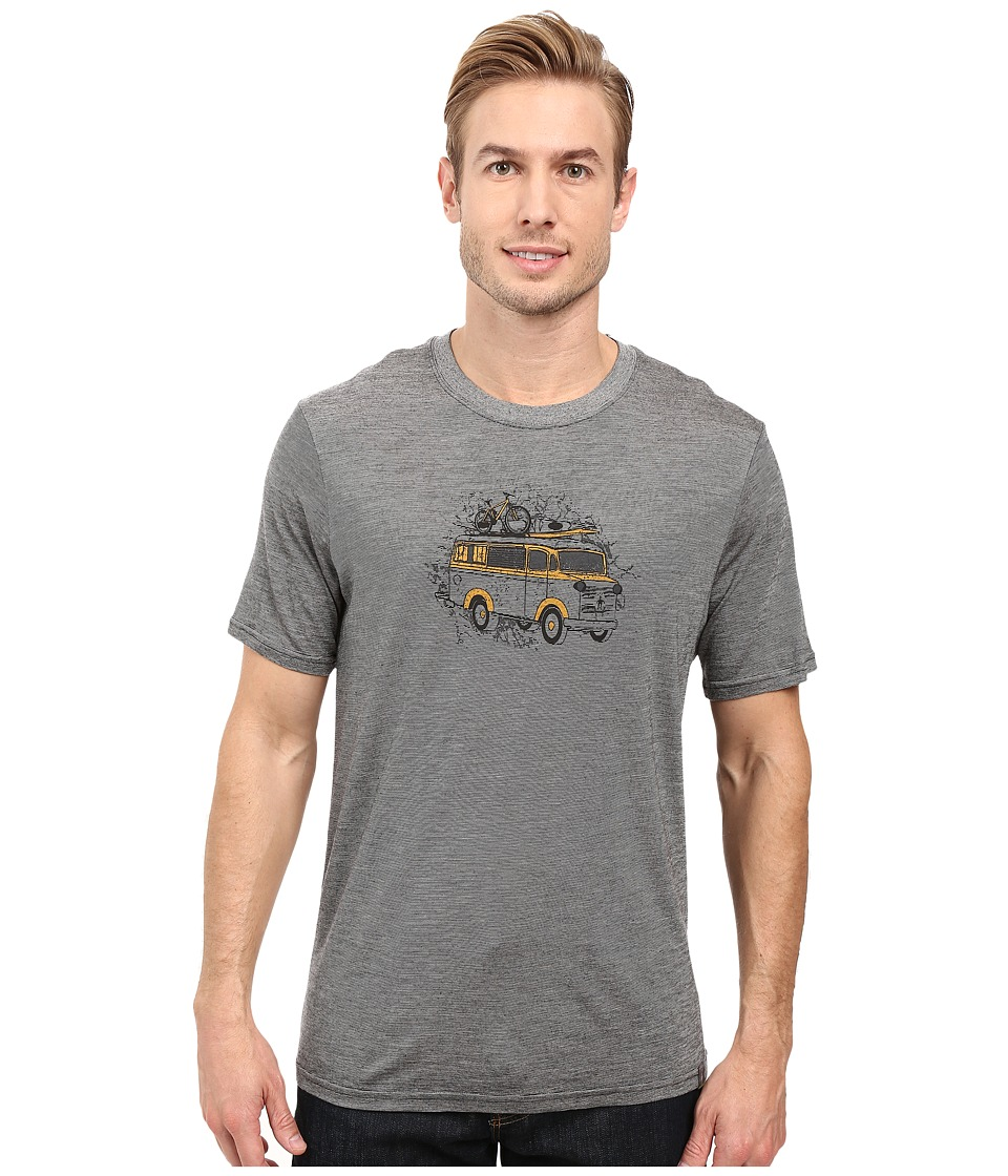 Smartwool - Van Tee (Medium Gray) Men's T Shirt
