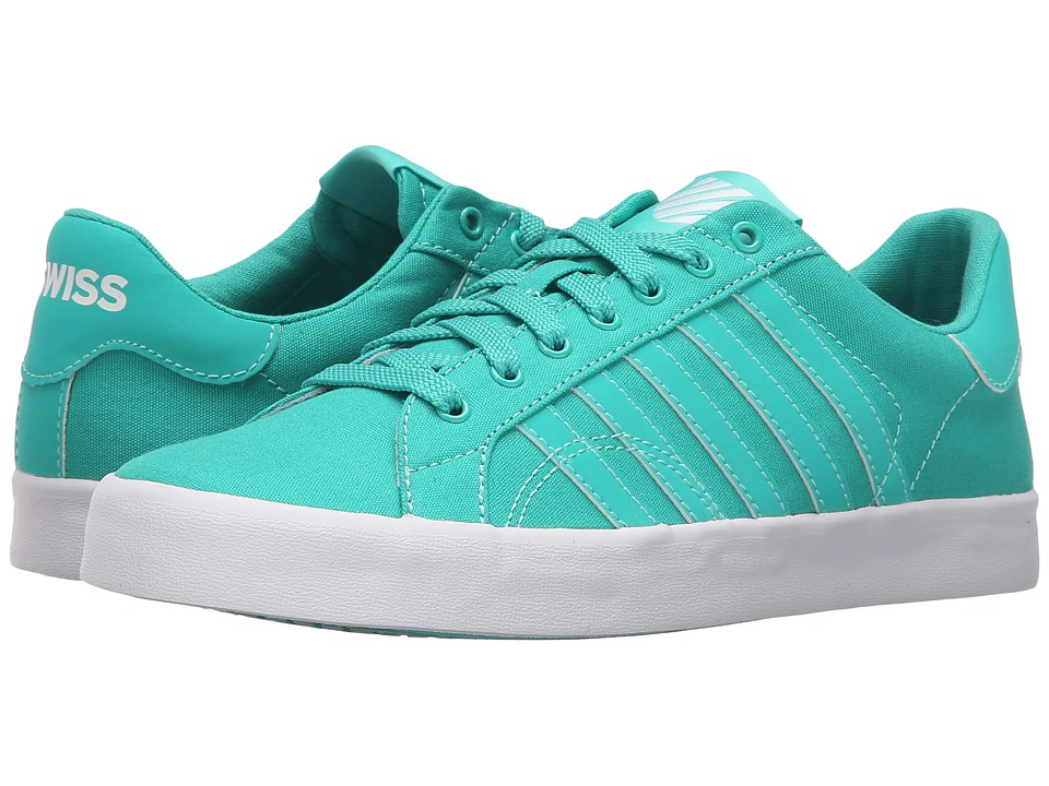 K-Swiss - Belmont SO T Sherbet (Pool Green/White Canvas) Women's Lace up casual Shoes