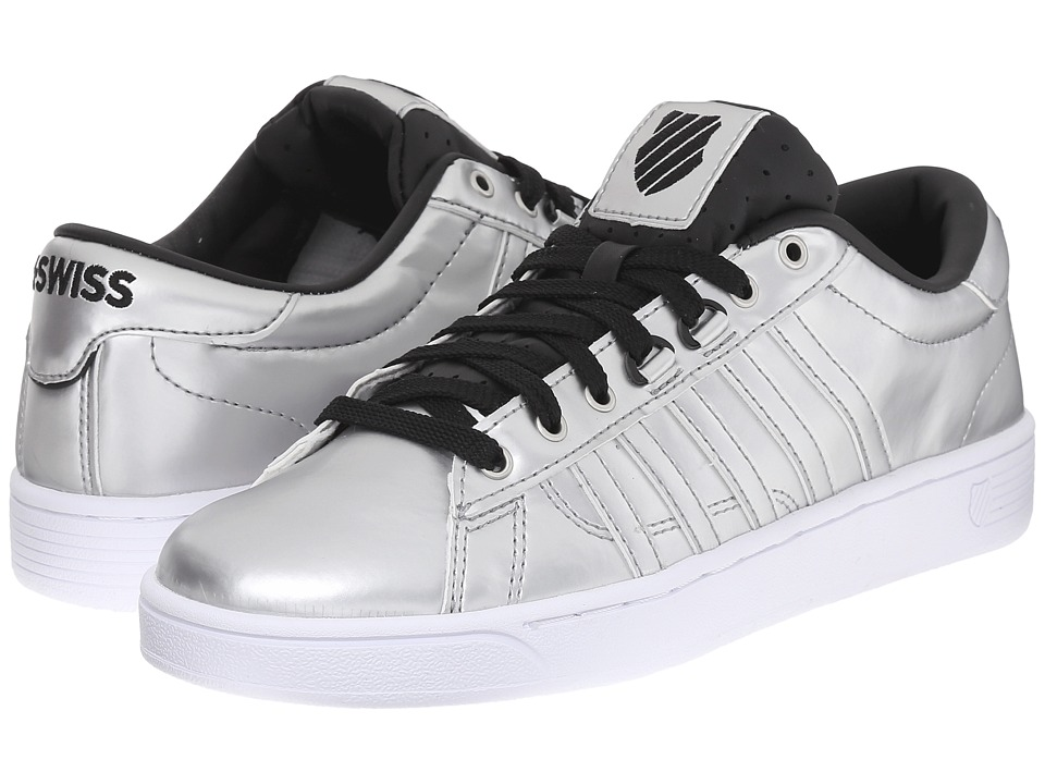 K-Swiss - Hoke Metallic CMF S (Silver/Black/White Metallic) Women's Lace up casual Shoes