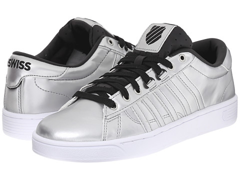 K-Swiss - Hoke Metallic CMF S (Silver/Black/White Metallic) Women