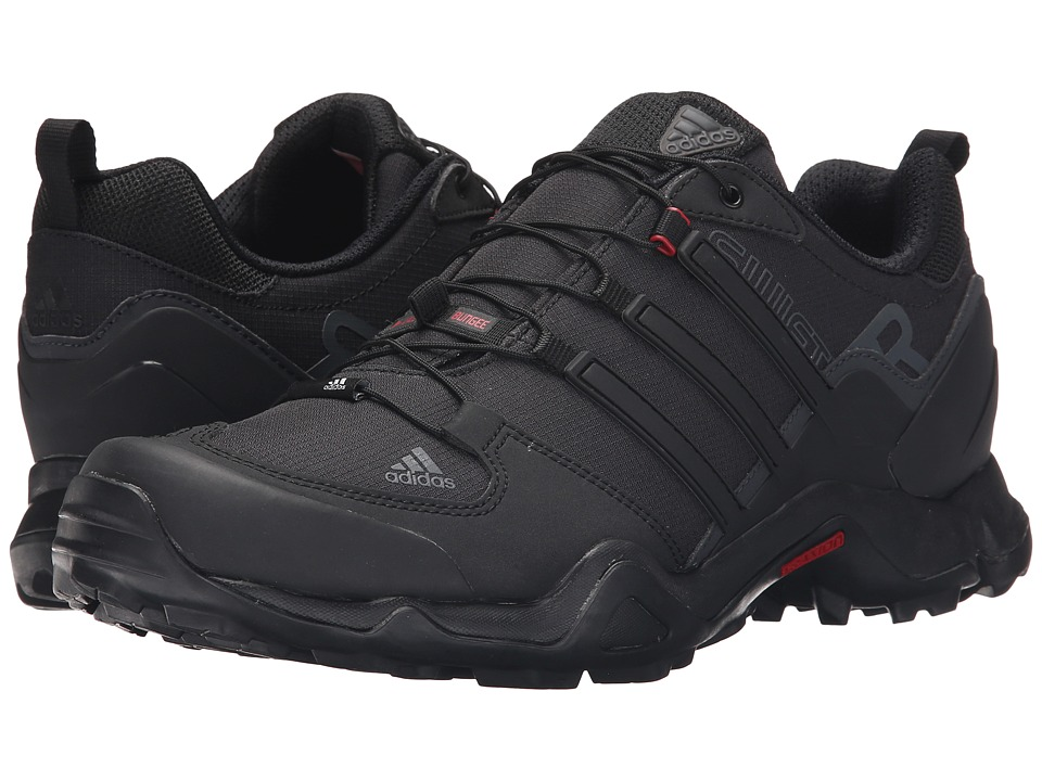 adidas Outdoor - Terrex Swift R (Black/Power Red/Dark Grey) Men's Shoes