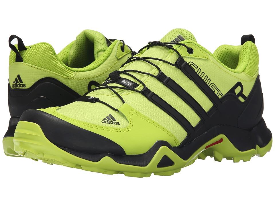 adidas Outdoor - Terrex Swift R (Semi Solar Slime/Core Black/Chalk White) Men's Shoes