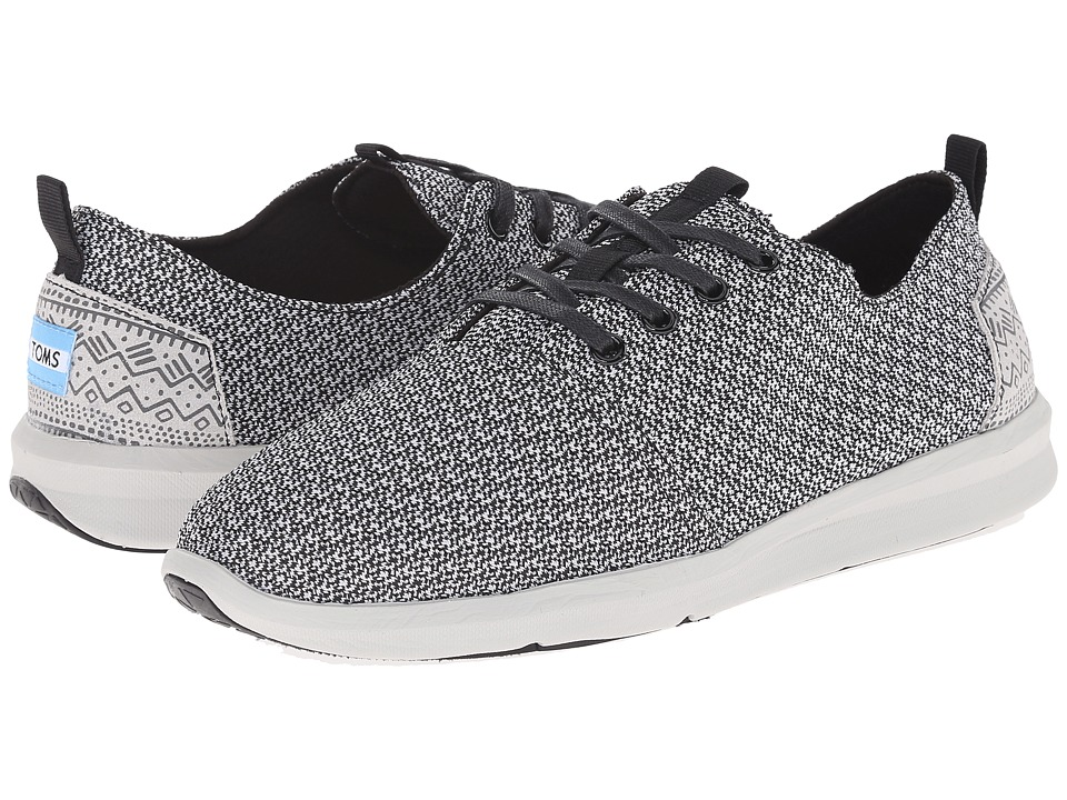 TOMS - Viaje Sneaker (Black/Grey Mesh) Men