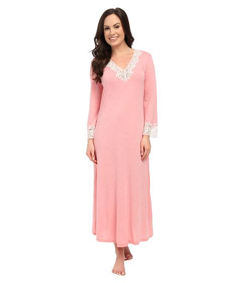 Natori - Lhasa Lounger (Hot Pink Nectar w/ Ivory Lace) Women's Pajama