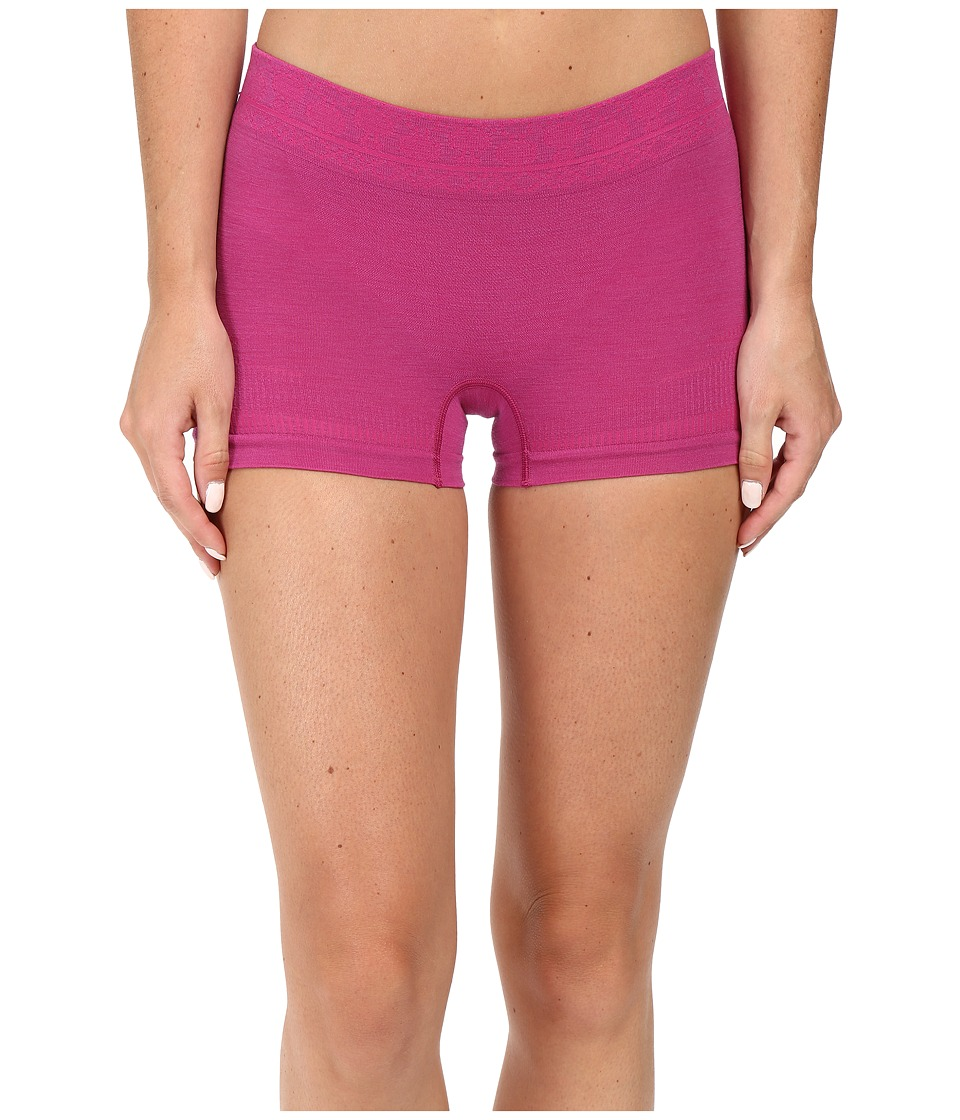 Smartwool - PhD Seamless Boy Short (Berry) Women's Underwear