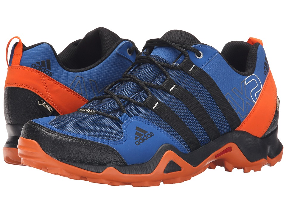 adidas Outdoor - adidas Outdoor - AX 2 GTX (EQT Blue/Black/Orange) Men's Shoes