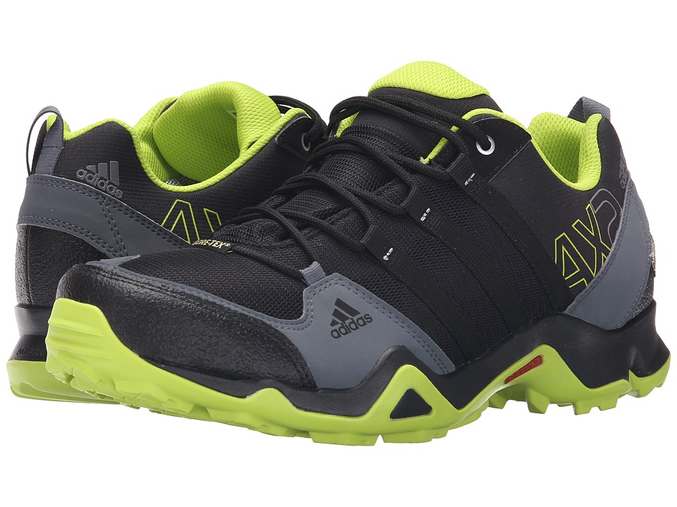 adidas Outdoor - adidas Outdoor - AX 2 GTX (Black/Semi Solar Slime/Onix) Men's Shoes