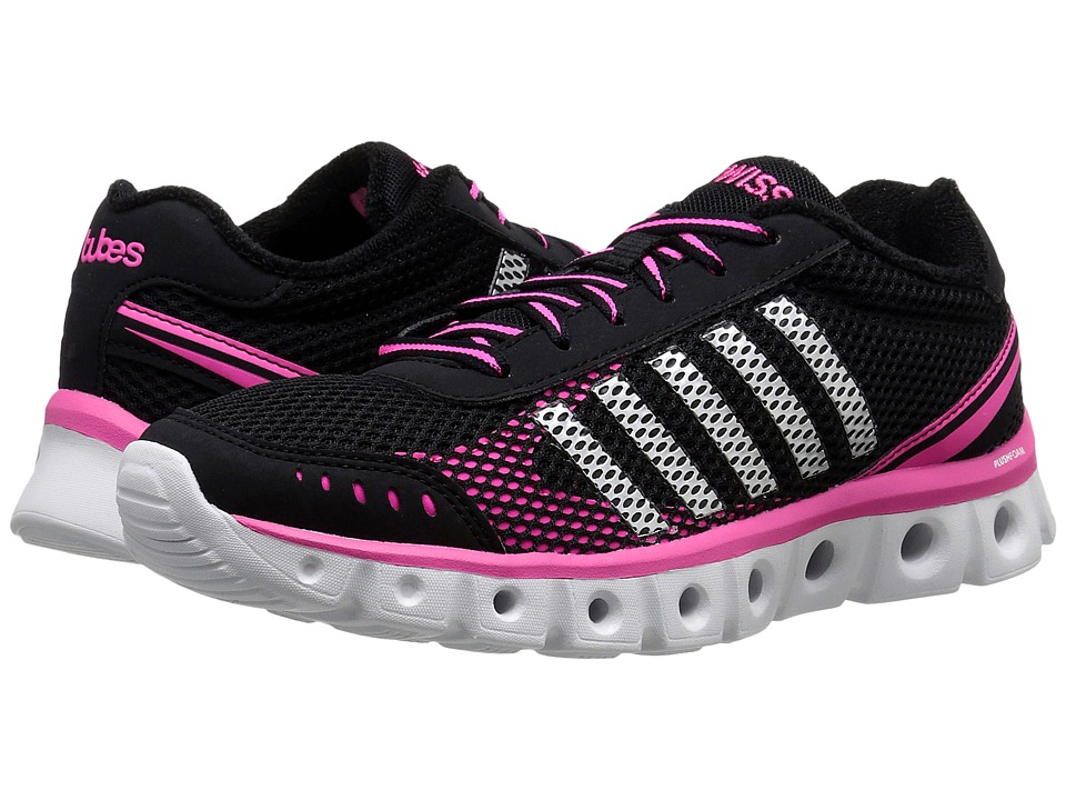K-Swiss - X Lite Athletic CMF (Black/Neon Pink Mesh) Women's Cross Training Shoes