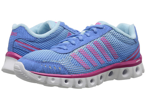 K-Swiss - X Lite Athletic CMF (Little Boy Blue/Clearwater/Beetroot Purple Mesh) Women