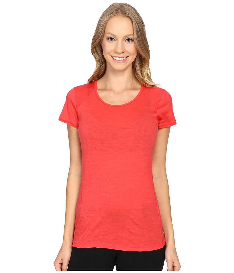 Smartwool - NTS Micro 150 Tee (Hibiscus) Women's T Shirt