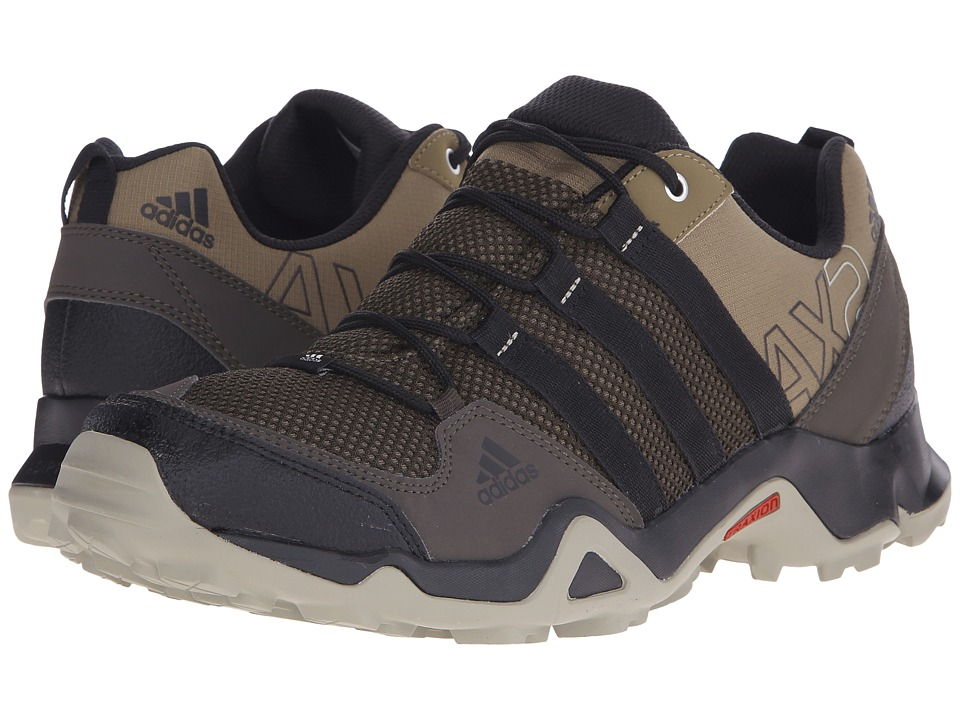 adidas Outdoor - AX 2 (Grey Blend/Black/Umber) Men's Shoes