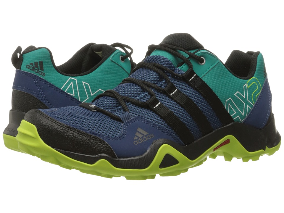 adidas Outdoor - AX 2 (Mineral Blue/Black/EQT Green) Men's Shoes