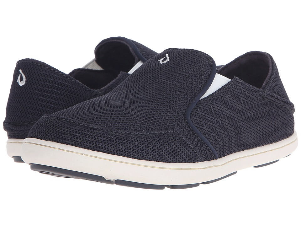 OluKai Kids - Nohea Mesh (Toddler/Little Kid/Big Kid) (Carbon/Off White) Boys Shoes