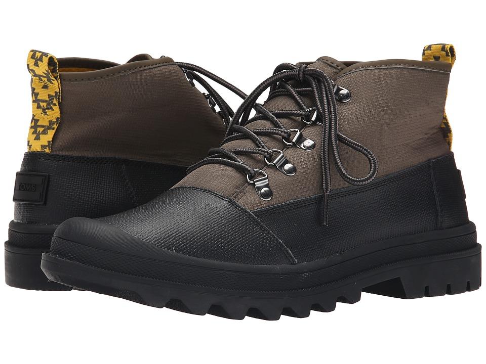 TOMS Cordova Boot (Black/Tarmac Olive Ripstop) Men