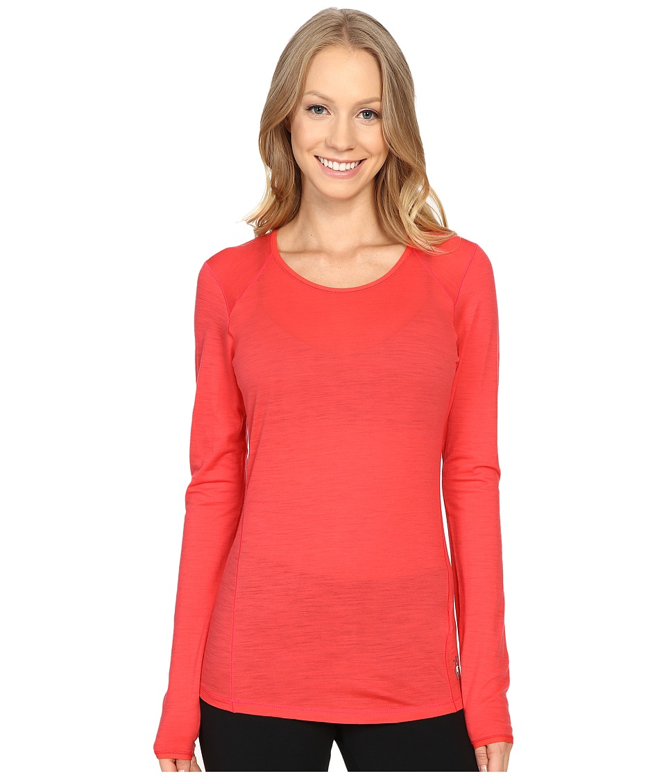 Smartwool - NTS Micro 150 Crew (Hibiscus) Women's Long Sleeve Pullover