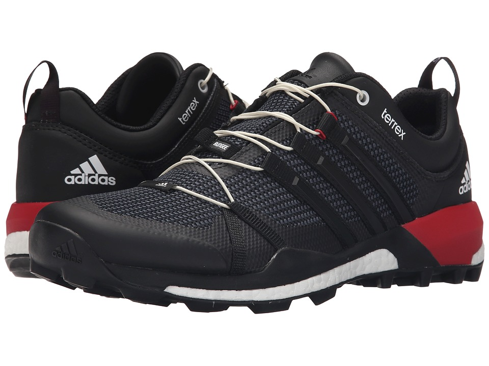adidas Outdoor - Terrex Skychaser (Black/Dark Grey/Power Red) Men's Shoes