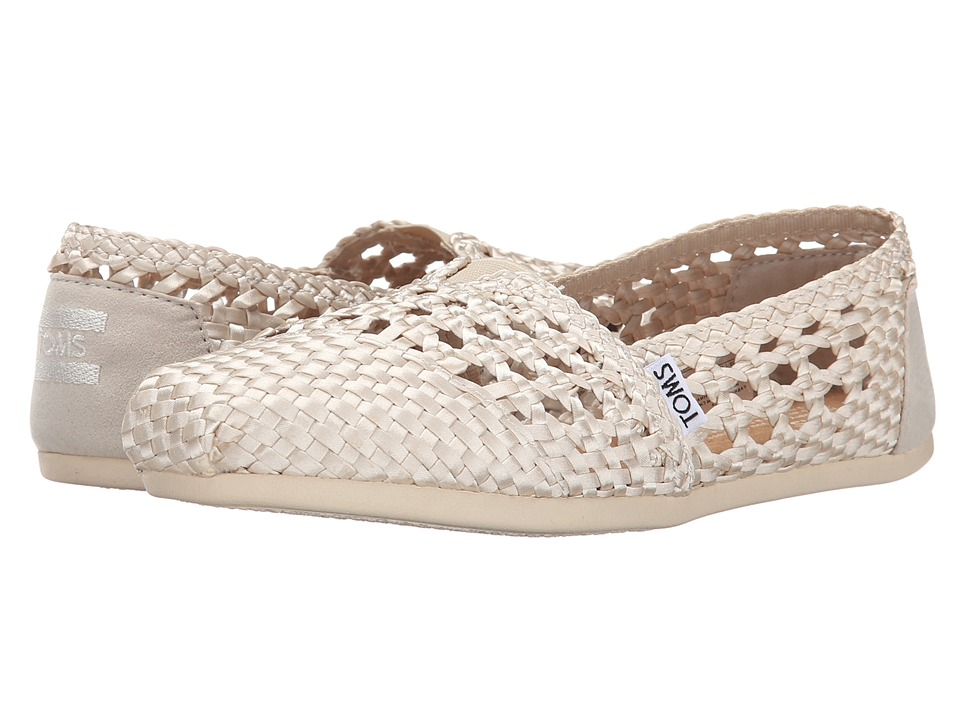 TOMS - Woven Classics (Whisper Satin Woven) Women's Slip on Shoes