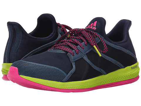 adidas - Gymbreaker Bounce (Collegiate Navy/Mineral Blue/Shock Pink) Women's Shoes