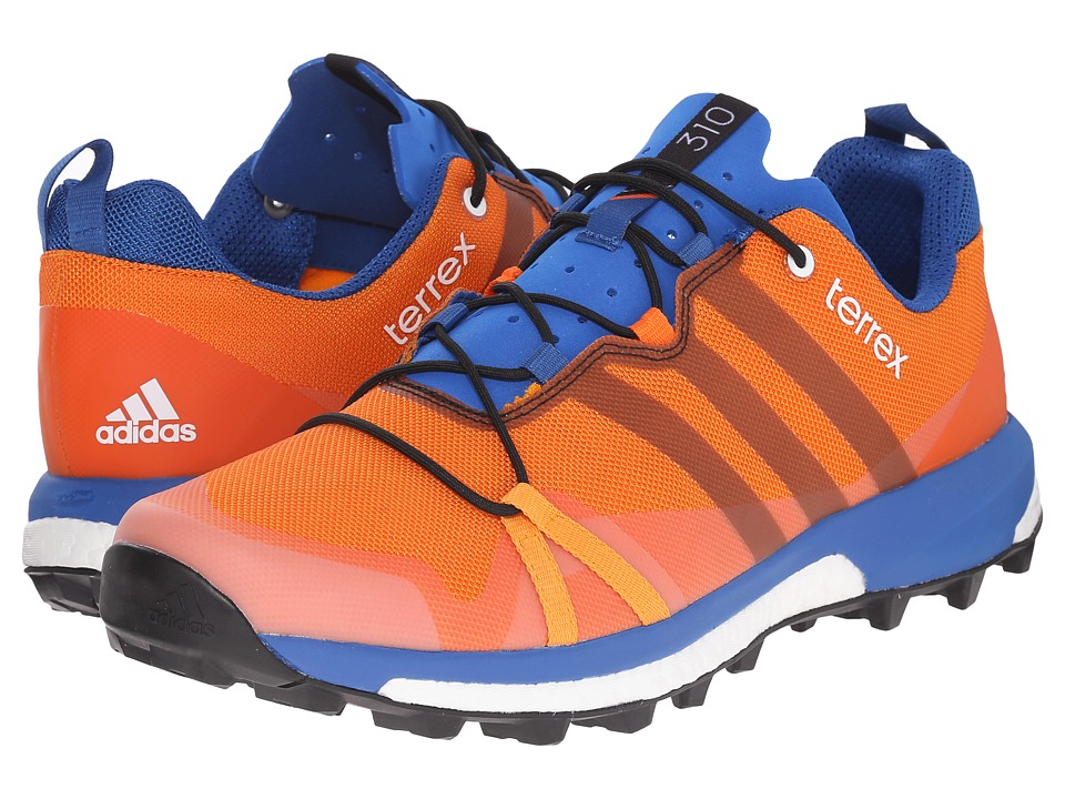 adidas Outdoor - Terrex Agravic (EQT Orange/Black/Orange) Men's Shoes
