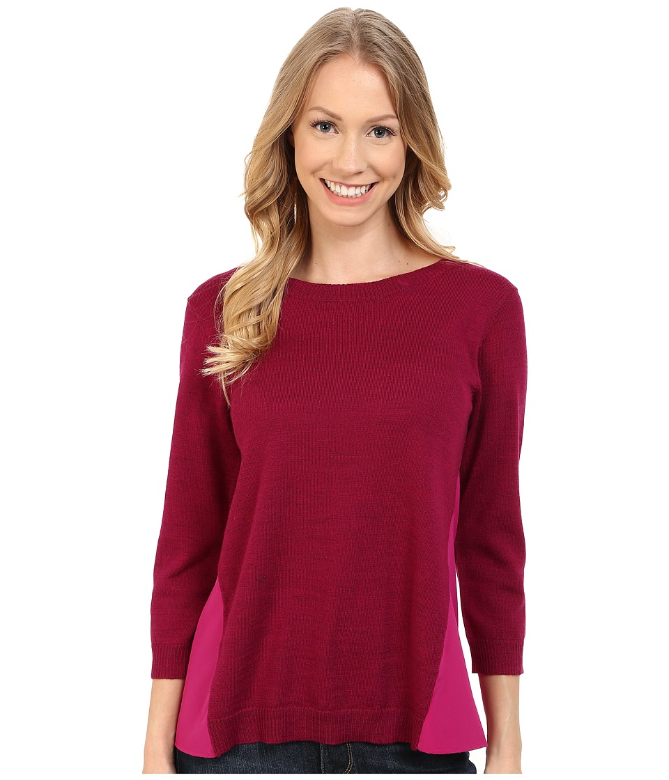 Smartwool - Palisade Trail Crew (Berry Heather) Women's Sweater