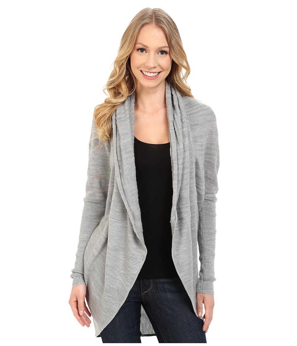 Smartwool - Palisade Trail Wrap (Silver Gray Heather) Women's Sweater