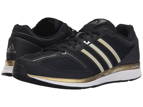 adidas - Zero Bounce (Iron Metallic/White/Black) Men