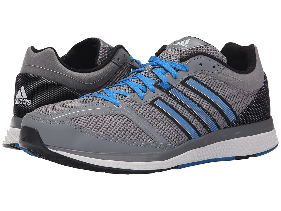 adidas - Zero Bounce (Grey/EQT Green/Black) Men's Running Shoes