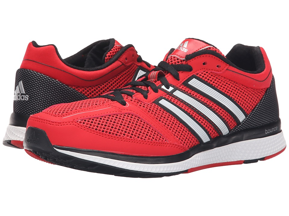 adidas - Zero Bounce (Vivid Red/Iron Metallic/Black) Men's Running Shoes