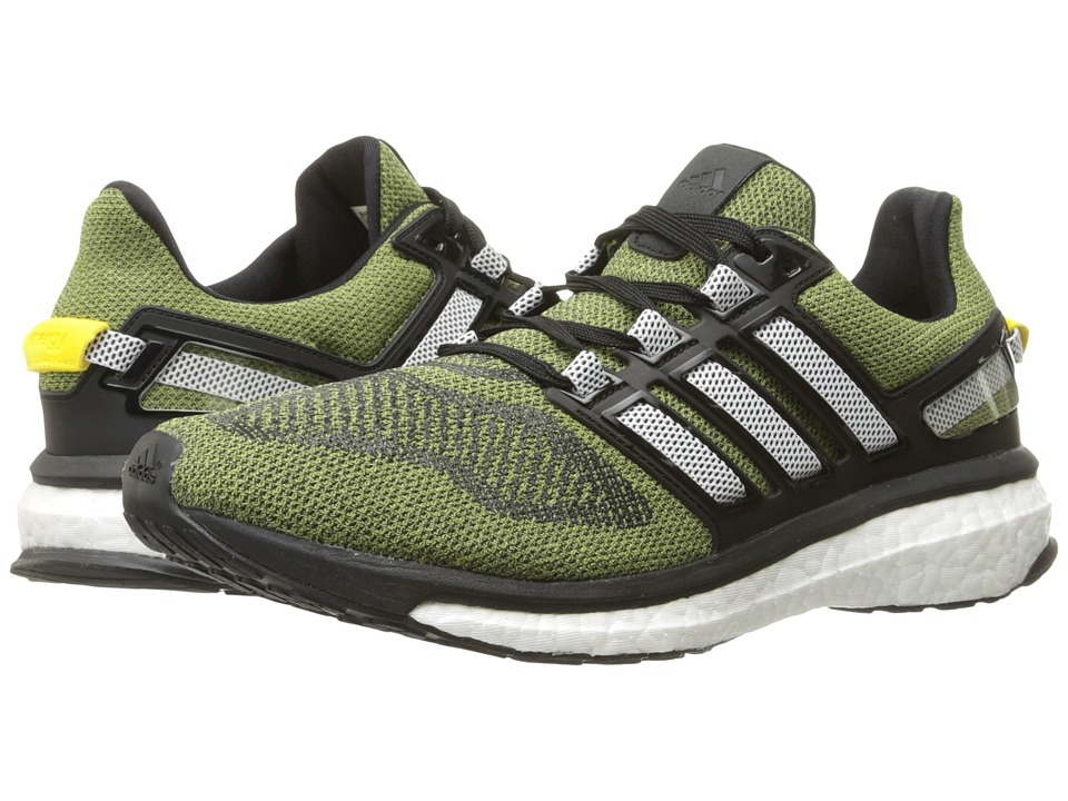 adidas Running - Energy Boost 3 (Shock Yellow/White/Black) Men's Running Shoes
