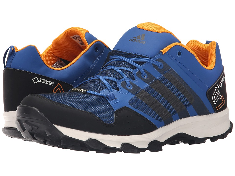 adidas Outdoor - Kanadia 7 Trail GTX (EQT Blue/Black/Chalk White) Men's Shoes