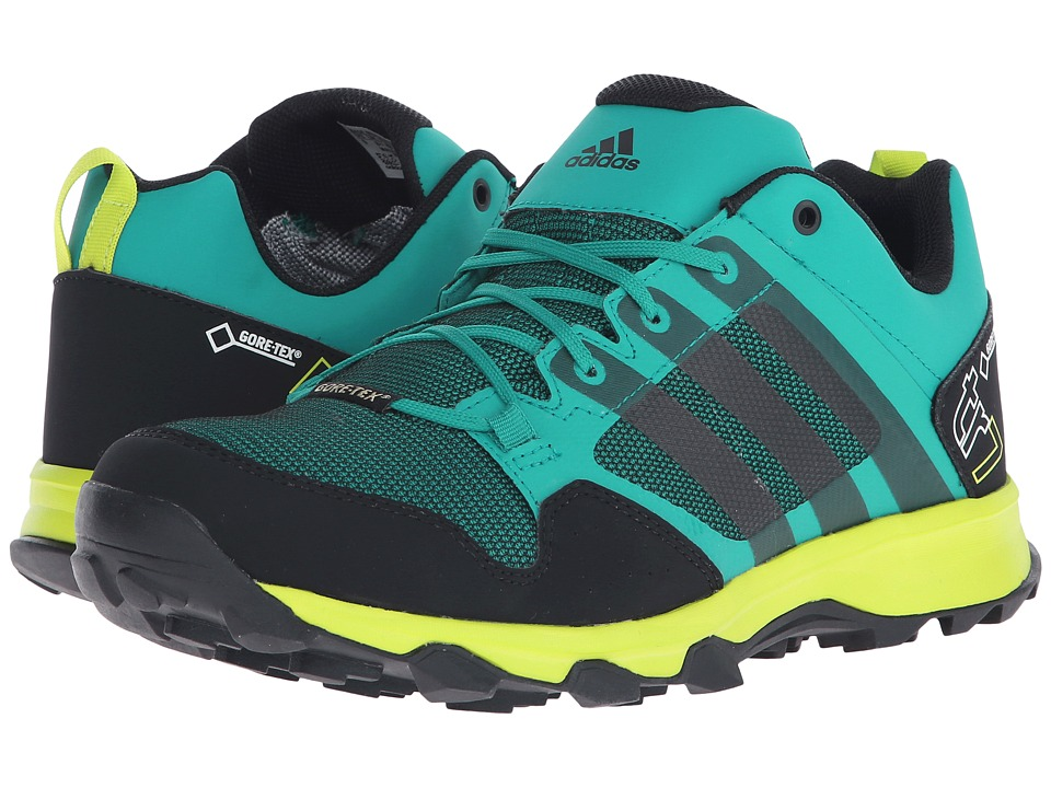 adidas Outdoor - Kanadia 7 Trail GTX (EQT Green/Black/Semi Solar Slime) Men's Shoes
