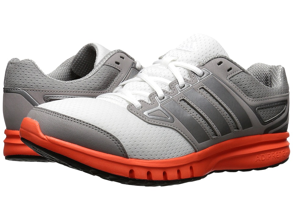 adidas - Galactic Elite (Solar Red/Solid Grey/Iron Metallic) Men's Running Shoes