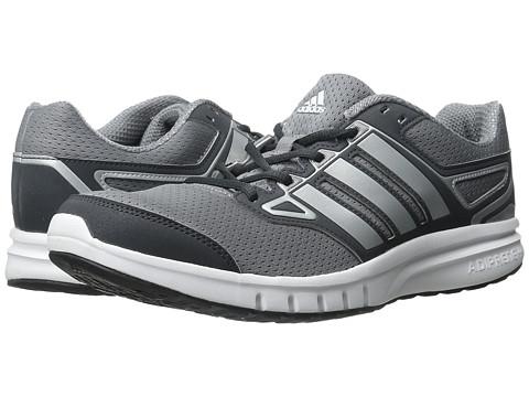 adidas - Galactic Elite (Silver Metallic/Grey/Dark Grey) Men's Running Shoes
