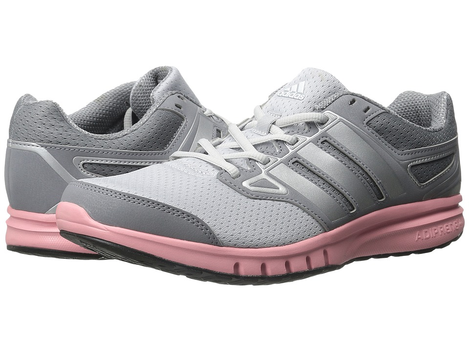adidas - Galactic Elite (Grey/Silver Metallic/Super Pop) Women's Running Shoes