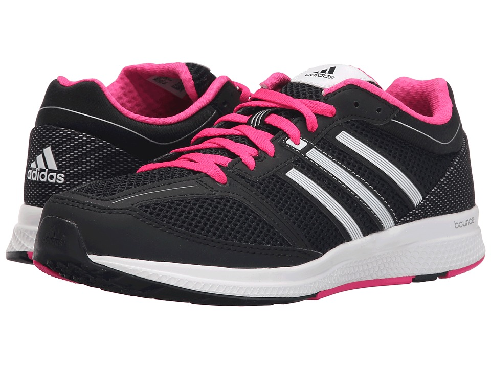 adidas - Zero Bounce (Black/Silver Metallic/White) Women