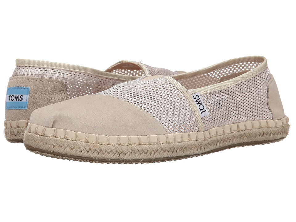 TOMS - Mesh Classics (Natural Mesh) Women's Slip on Shoes