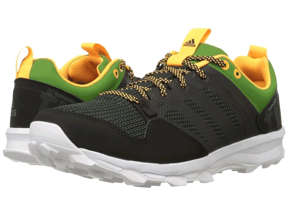 adidas Outdoor - Kanadia 7 Trail (Black/Black/White) Men's Shoes