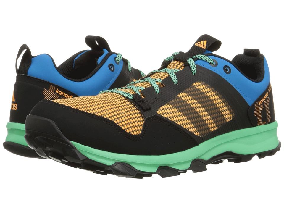 adidas Outdoor - Kanadia 7 Trail (Solar Blue/Black/Solar Gold) Men's Shoes