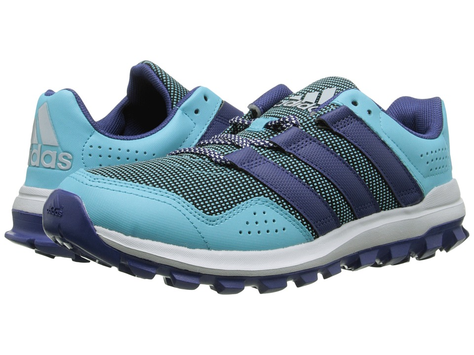 adidas - Slingshot TR (Blue Glow/Raw Purple/Halo Blue) Women's Running Shoes