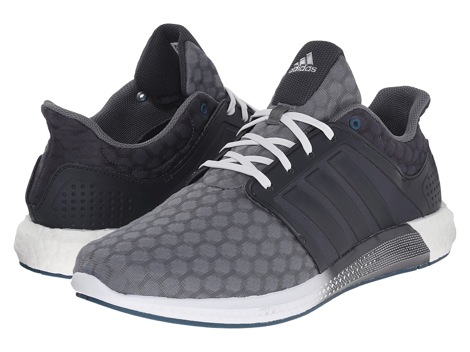 adidas - Solar Boost (Vista Grey/Dark Grey/Crystal White) Men's Running Shoes