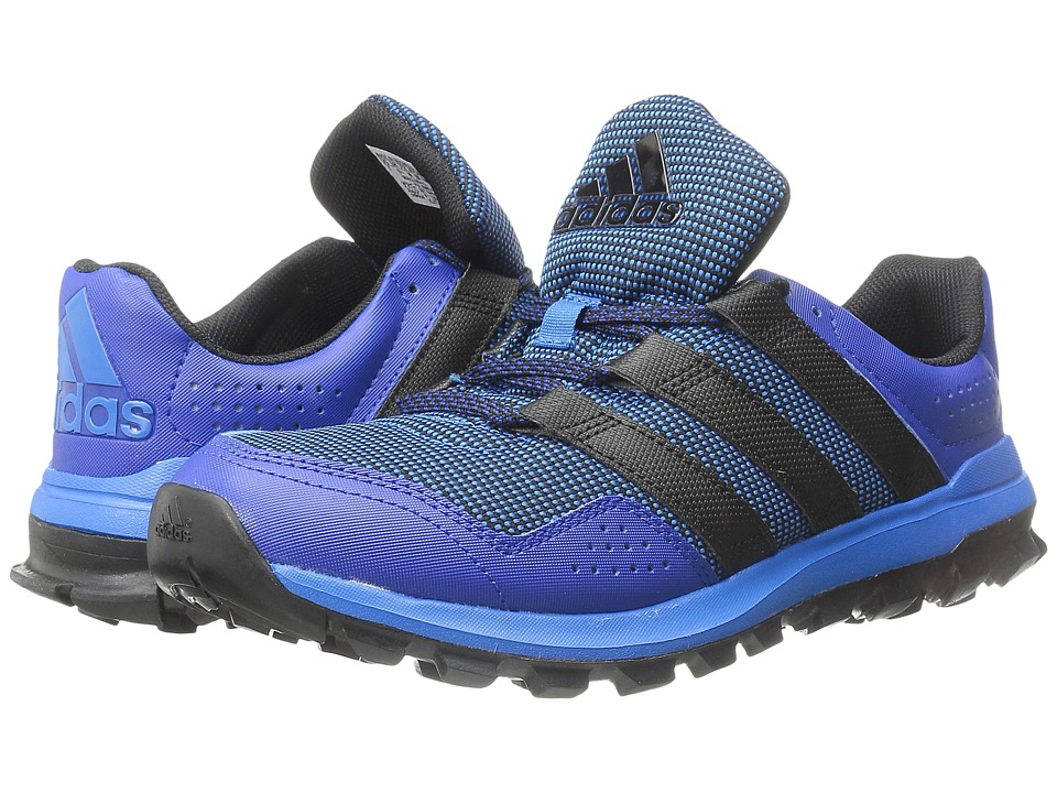 adidas Running - Slingshot Trail (Shock Blue/Black/Collegiate Royal) Men's Shoes