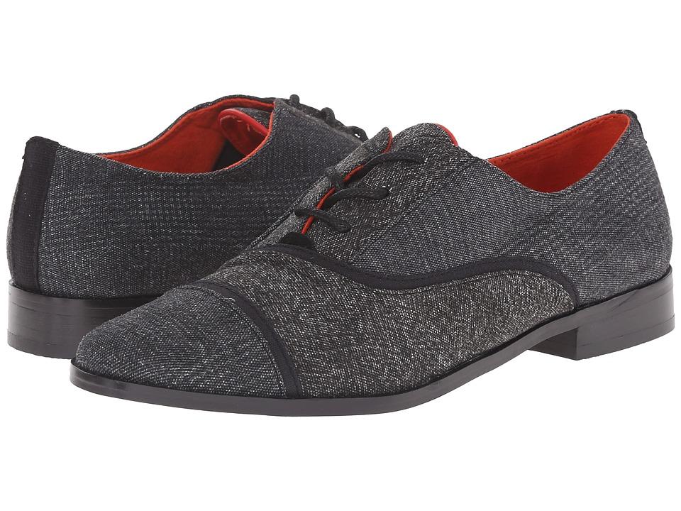 TOMS - Mocha Brogue (Black Textile Mix) Women's Lace up casual Shoes
