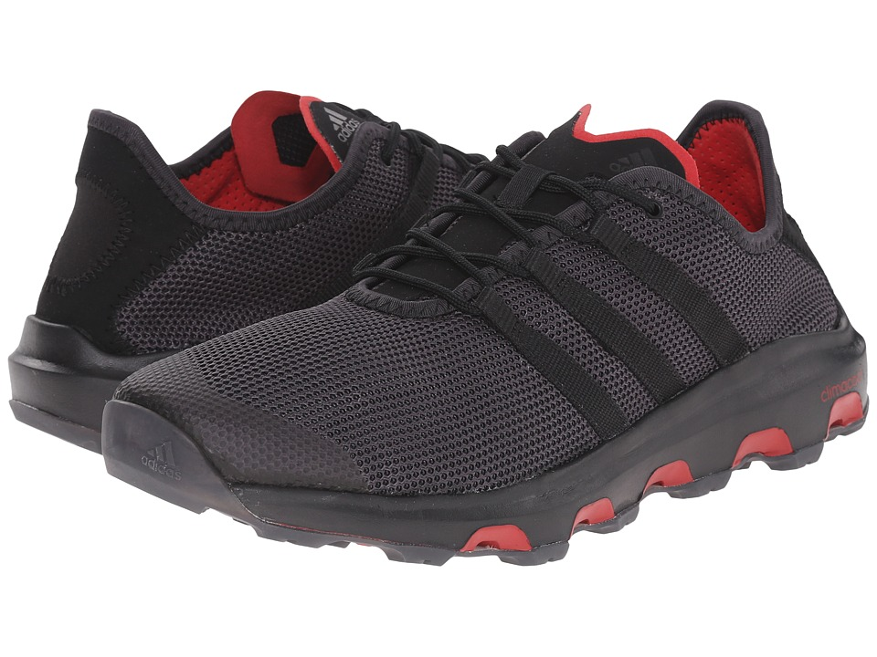 adidas Outdoor - climacool Voyager (Shadow Black/Black/Power Red) Men's Shoes