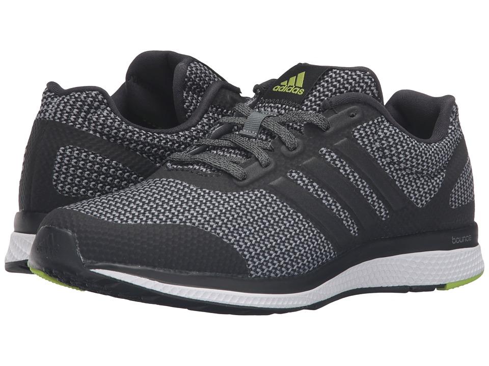 adidas Running - Mana Bounce (Black/Vista Grey/Chalk White) Men's Running Shoes