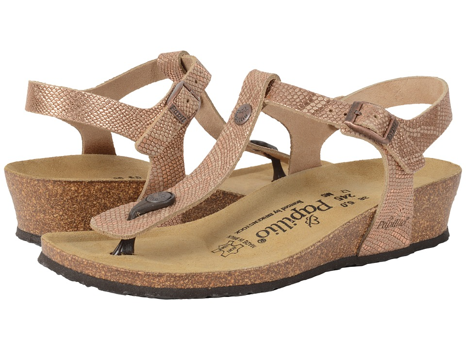 545f53c0be1 UPC 886925201025 product image for Birkenstock - Ashley (Royal Python Brown  Leather) Women s Sandals ...