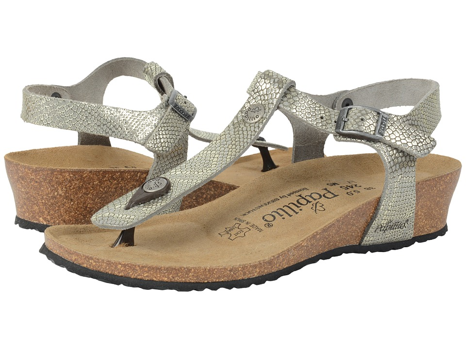 Birkenstock Ashley (Royal Python Grey Leather) Women